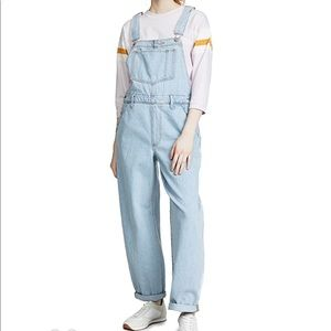 Levi's Baggy Overall Jeans Light Denim